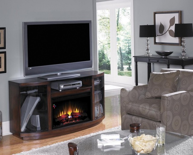 Twin Star Electric Fireplace Model 23ef022gra
