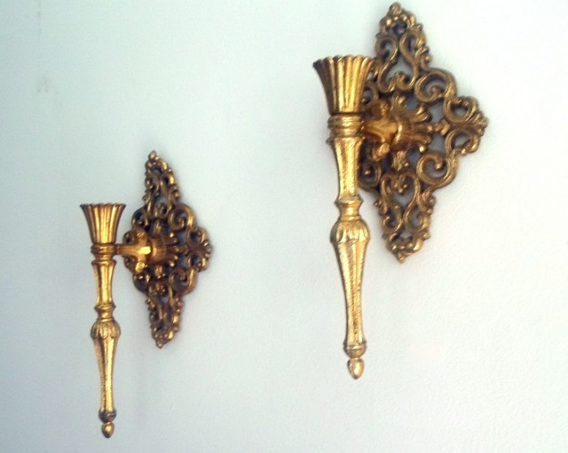 Victorian Candle Wall Sconces