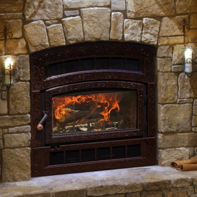 Wood Burning Zero Clearance Fireplace