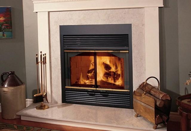 Zero Clearance Fireplace Installation