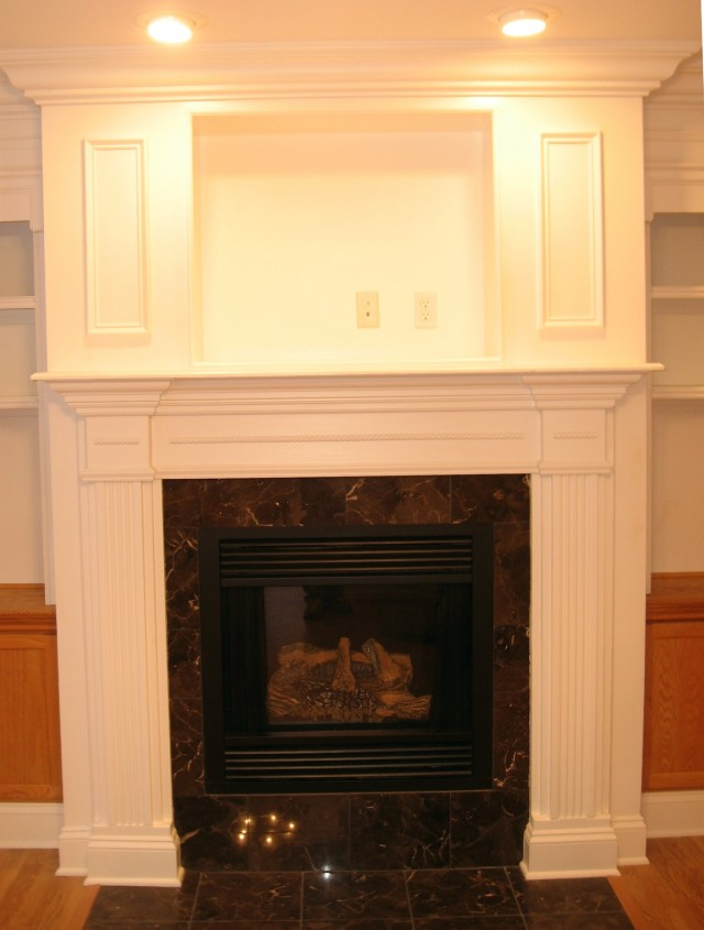 Building A Fireplace Surround Plans