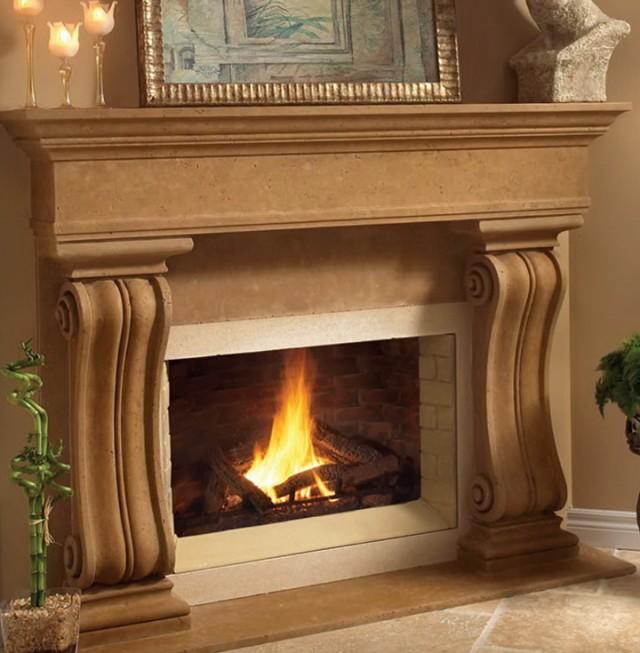 Cast Stone Fireplaces Houston