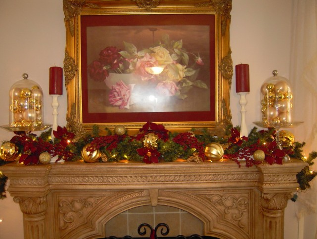 Christmas Fireplace Decorations Price