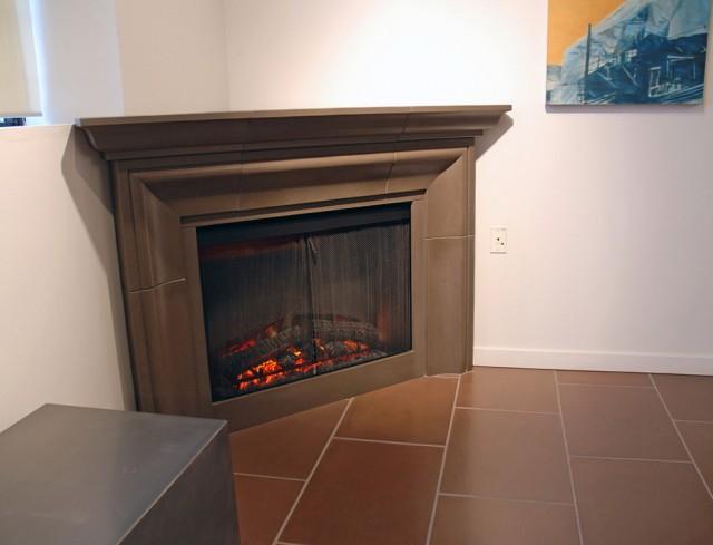 Concrete Fireplace Surrounds Vancouver Bc