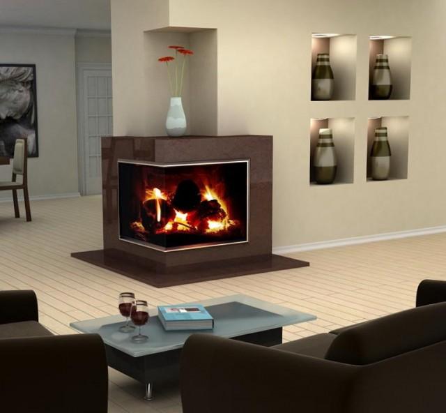 Corner Fireplace Mantel Kits