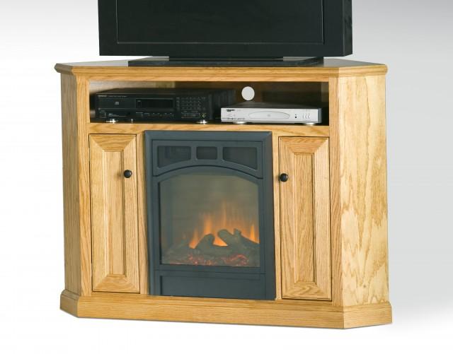 Corner Gas Fireplace Tv Stand