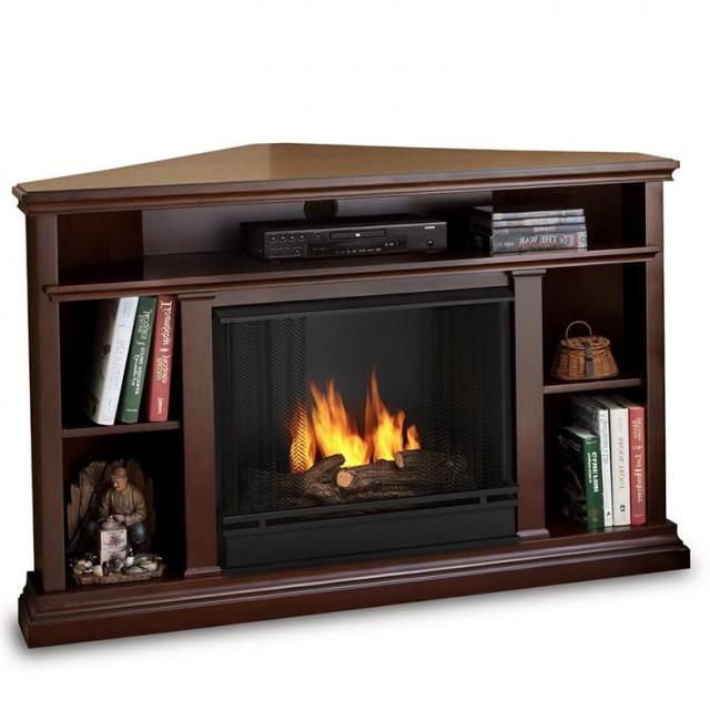 Corner Tv Fireplace Stand
