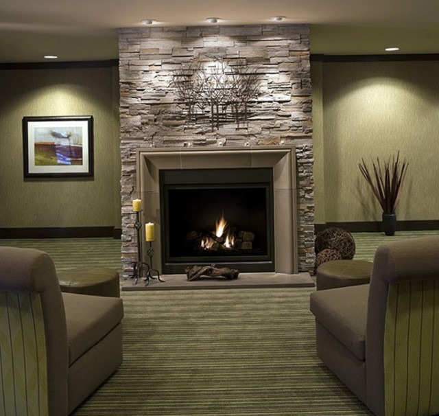 Covering Brick Fireplace Ideas