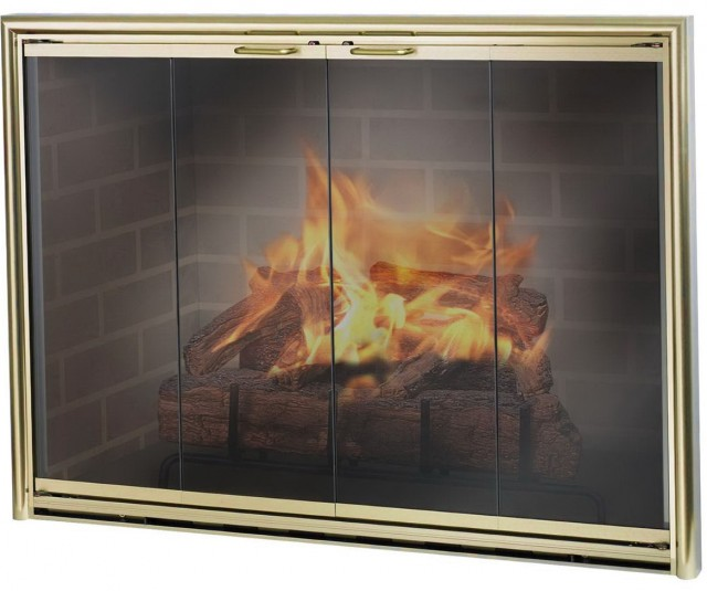 Custom Fireplace Doors Dallas