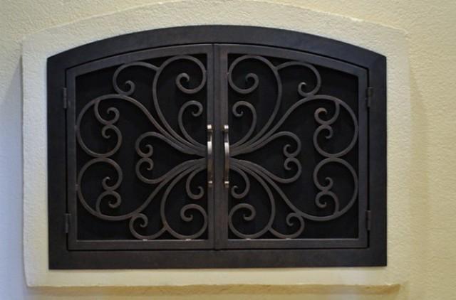 Custom Fireplace Doors Los Angeles