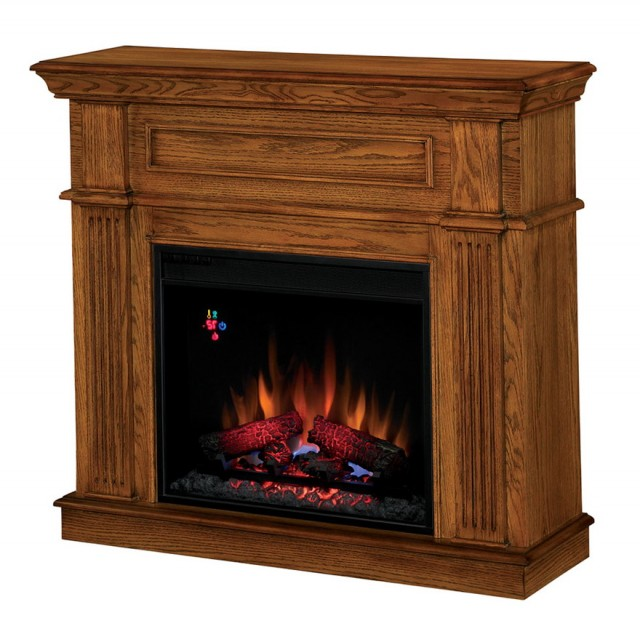 Derry 32 In. Compact Infrared Electric Fireplace In Cherry