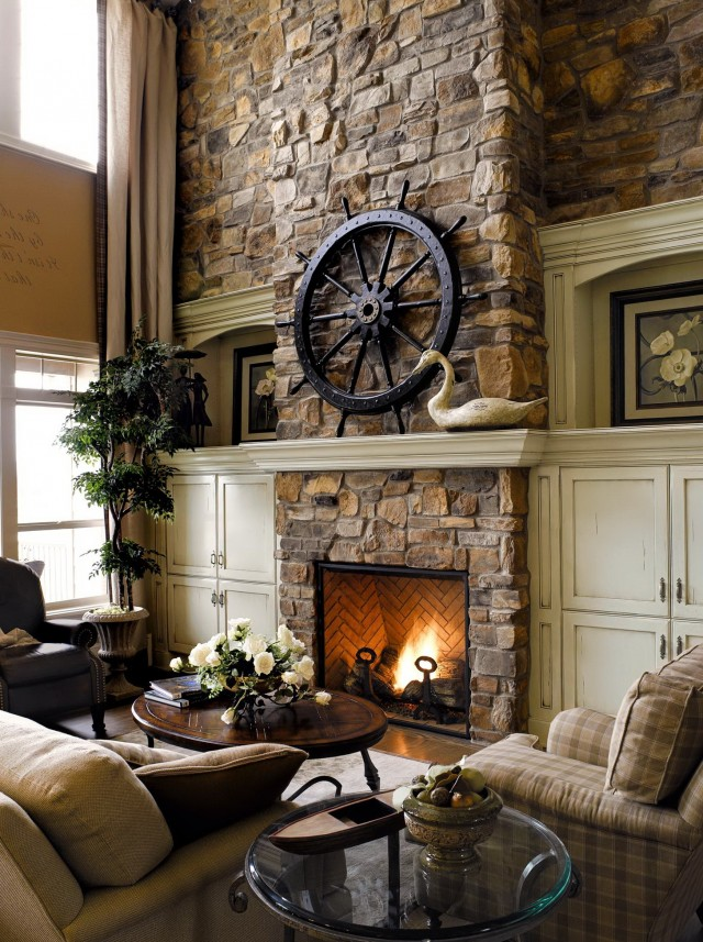 Eldorado Stone Fireplace Gallery