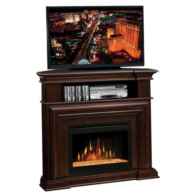 Electric Fireplace Corner Entertainment Center