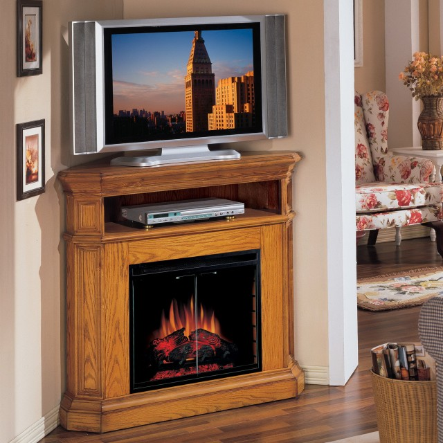 Electric Fireplace Corner Tv Stand