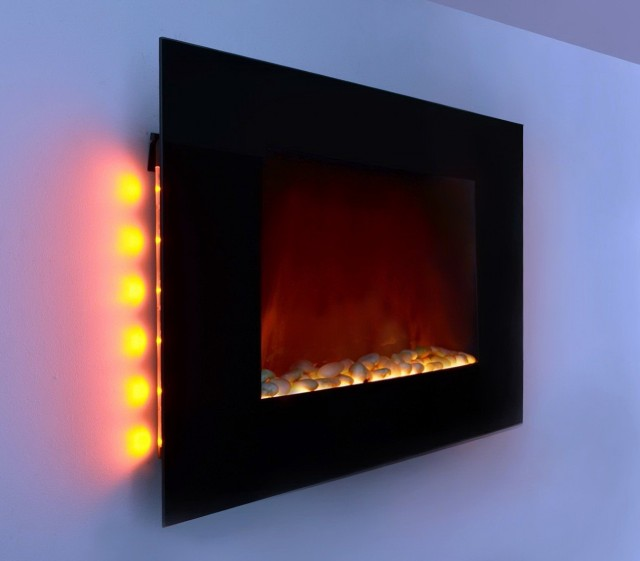 Electric Wall Fireplaces Heater Wall Mount