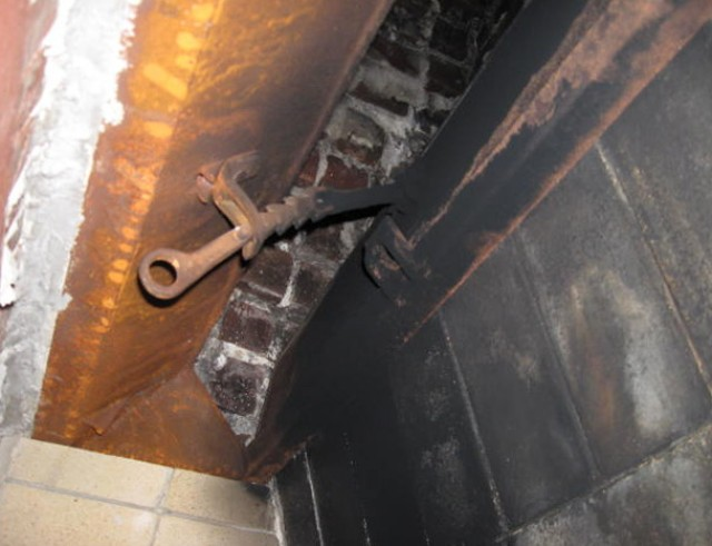 Fireplace Damper Replacement Parts