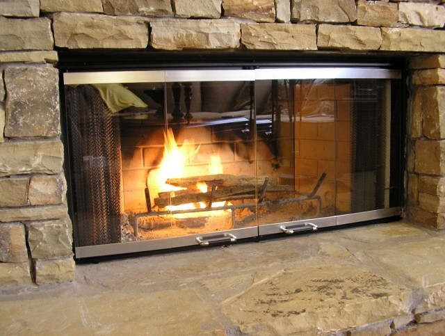 Fireplace Door Replacement Glass