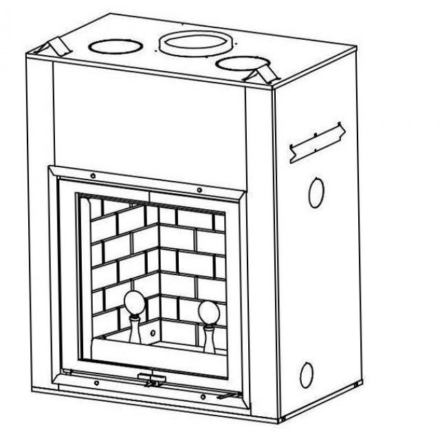 Fireplace Door Replacement Handles