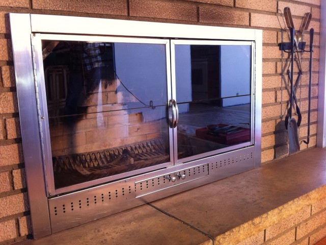 Fireplace Door Replacement San Diego