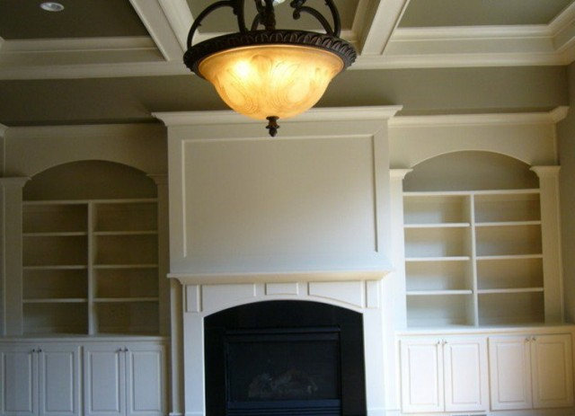 Fireplace Walls With Built Ins