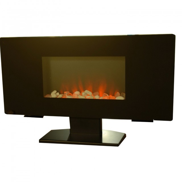 Flat Wall Electric Fireplace