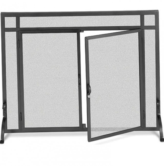 Forged Iron Fireplace Screens