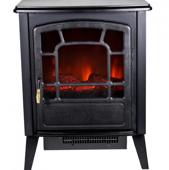 Free Standing Fireplaces Electric