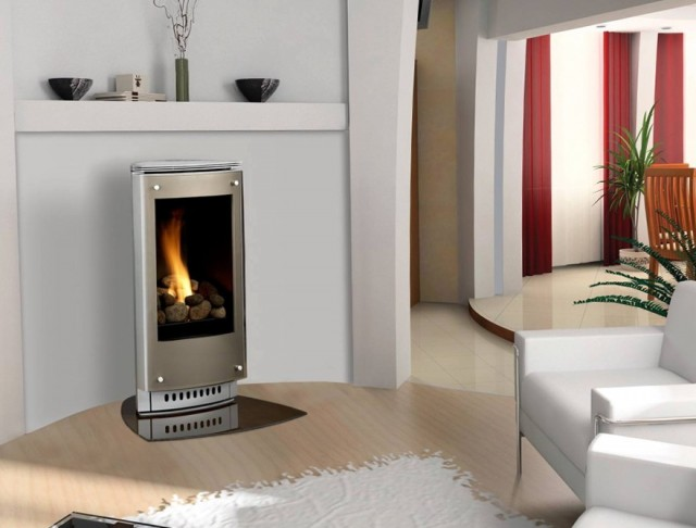 Free Standing Fireplaces Gas