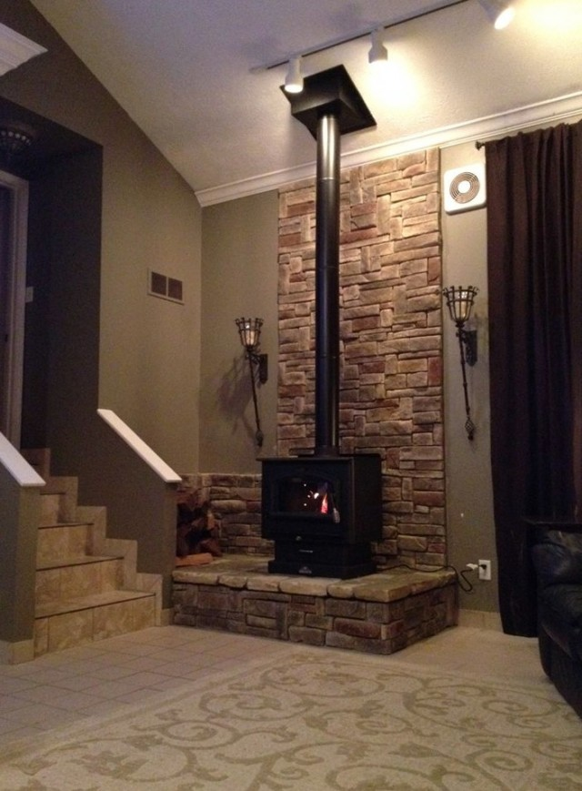 Free Standing Fireplaces Wood