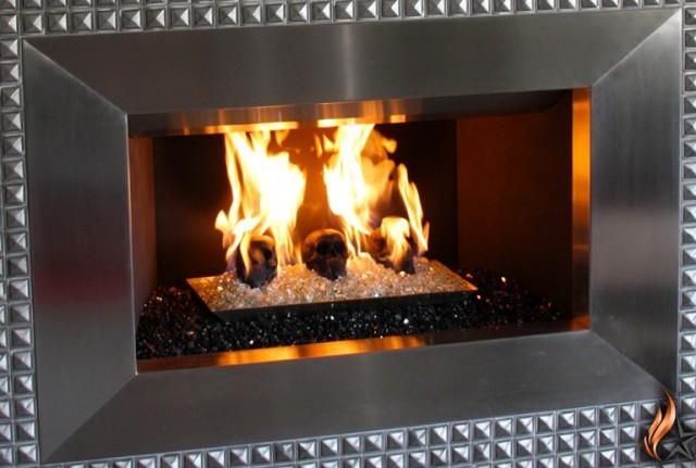 Glass Rock Fireplace Kits