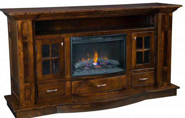 Large Electric Fireplace Tv Stand