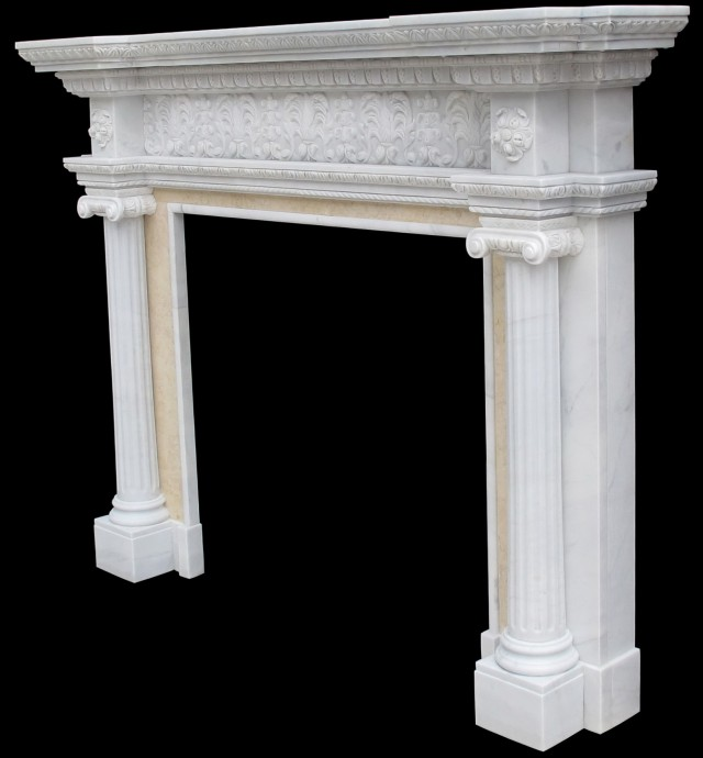 Marble Fireplace Mantels New York