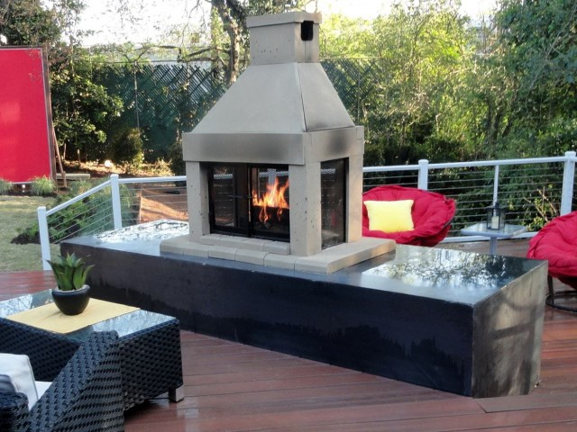 Outdoor Natural Gas Fireplace Inserts