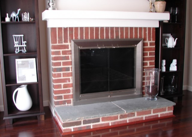Paint Colors With Red Brick Fireplace