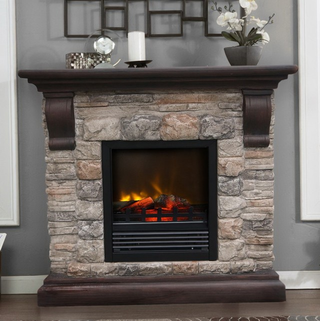 Pictures Of Faux Stone Fireplaces