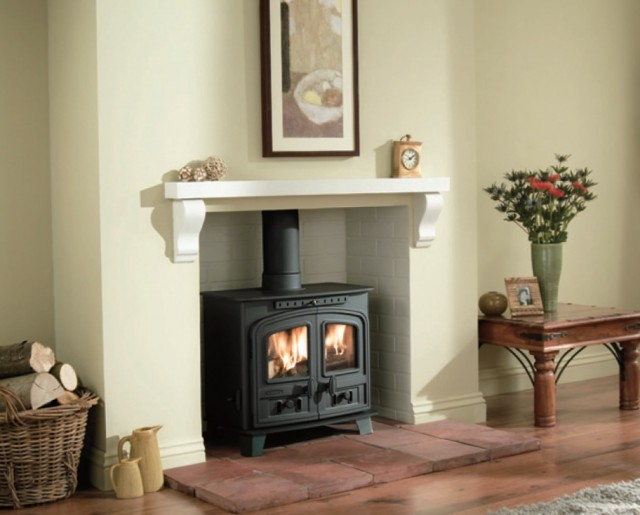 Pictures Of Free Standing Fireplaces
