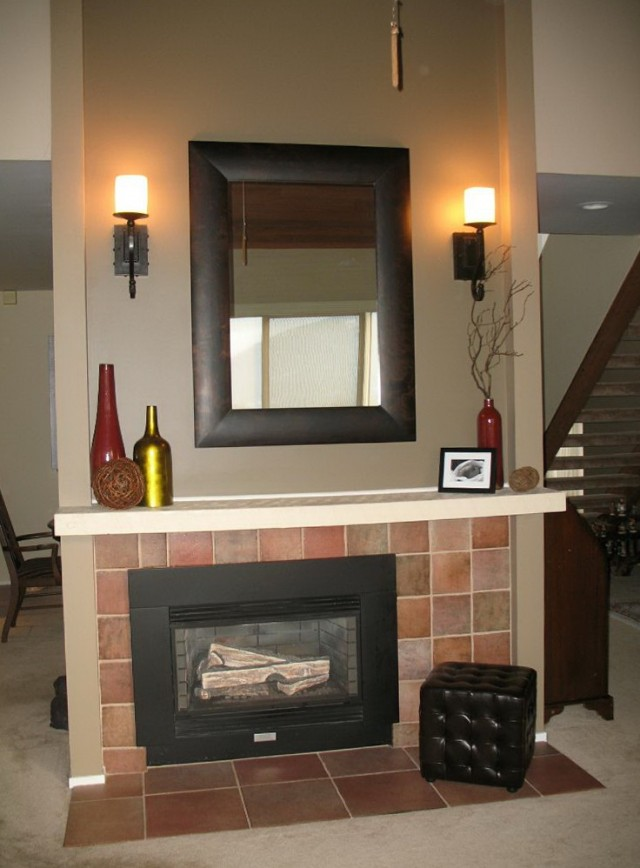 Pictures Of Mirrors Over Fireplaces