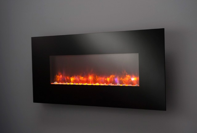 Pictures Of Wall Mount Fireplaces