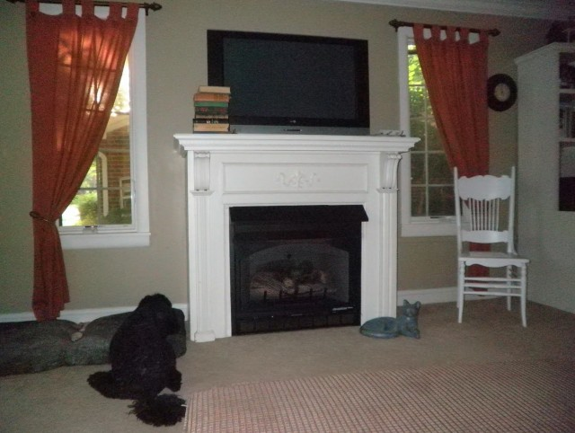 Pictures Of White Fireplace Mantels