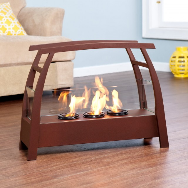 Portable Gel Fuel Fireplace