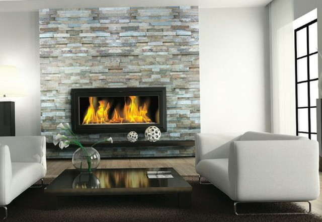 Slate Stone Tile Fireplaces