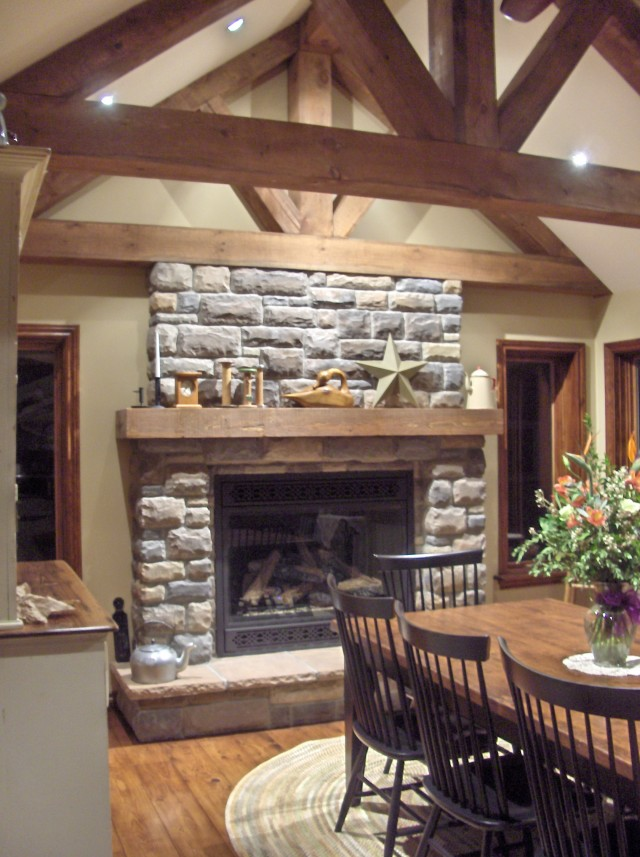 Stone Fireplace Designs Photos