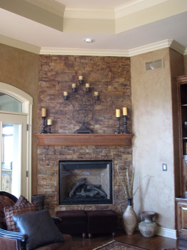 Stone Fireplace Paint Colors
