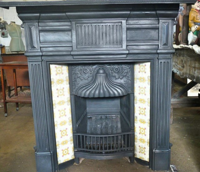 Victorian Fireplace Tiles For Sale