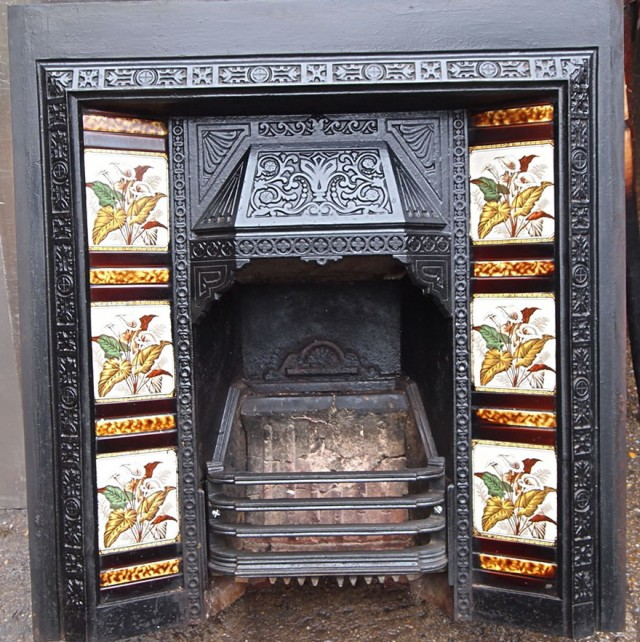 Victorian Fireplace Tiles Uk