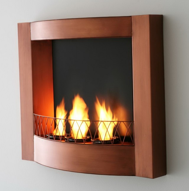 Wall Mount Gel Fuel Fireplace