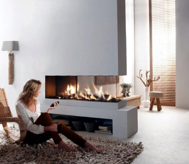 3 Sided Fireplace Australia