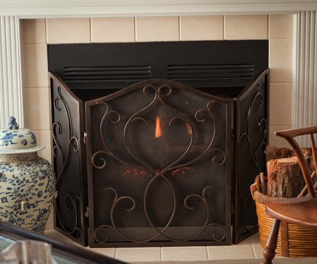 Antique Fireplace Screens Ebay