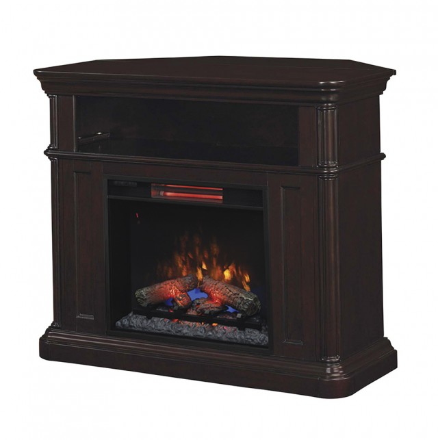 Corner Infrared Electric Fireplaces