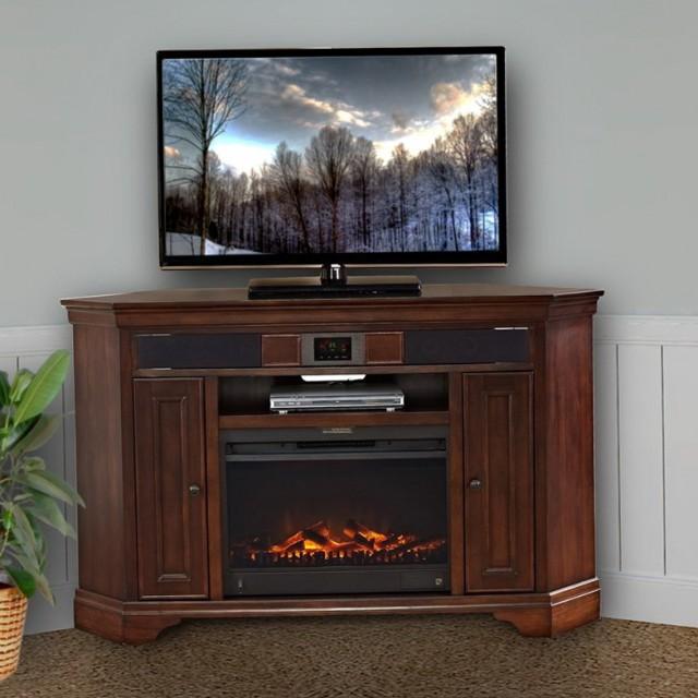 Corner Tv Stand Fireplace